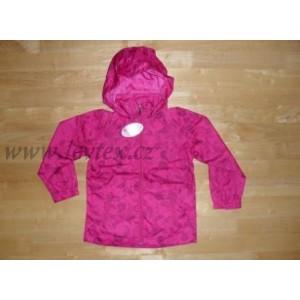 36a962597f5 Dětská šusťáková bunda jarní dívčí WOLF - levtex